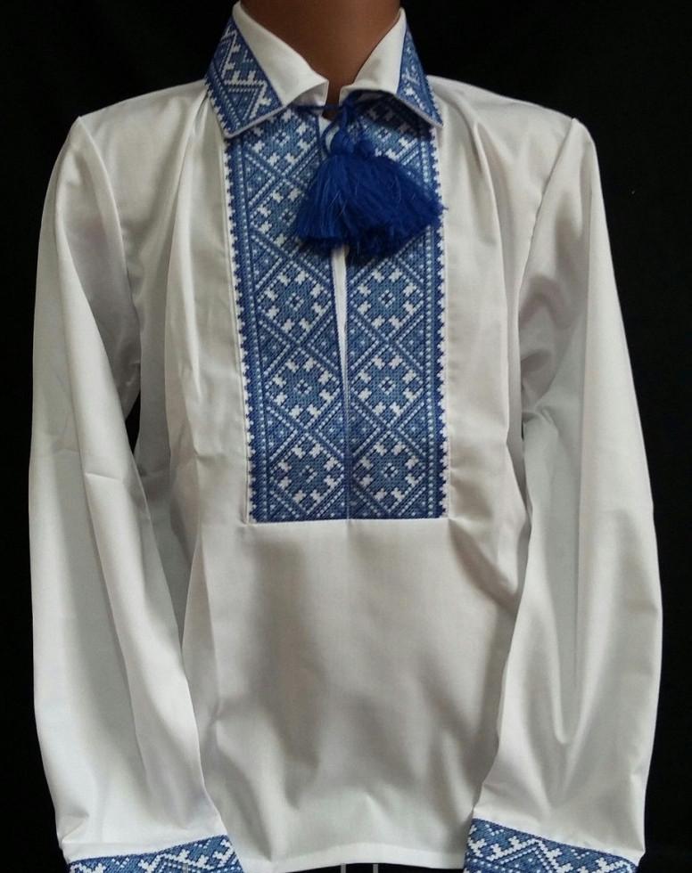 Вышитая сорочка для мальчика Тарас