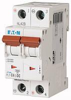 Автоматический выключатель постоянного тока 2-полюс. PL7-C10/2-DC EATON