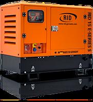 Дизель-генератор RID 15 E-Series 12-13,3 кВт двигатель Mitsubishi
