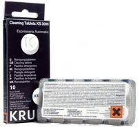 Krups XS3000 - Таблетки для чистки гидросистем кофемашин Krups от кофейных масел
