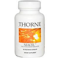 Никотинамид рибозид, витамины для спортсменов, Niacel Thorne Research, 60 капсул