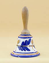 Колекционный дзвіночок, кераміка, Англія, ручний розпис