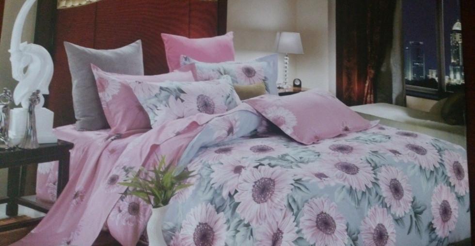 Двуспальное постельное белье Голд (бязь)