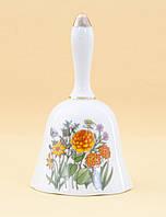 Винтажный коллекционный колокольчик, фарфор, Япония, фото 1