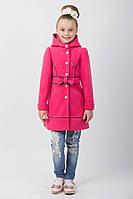 """Пальто для девочки """"Бант"""" 122 рост"""