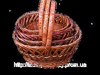 Корзины плетеные из лозы оптом, фото 1