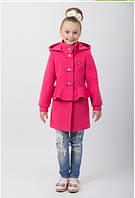 """Пальто для девочки """"Баска"""" 122 рост"""
