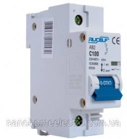 Автоматический выключатель двухполюсный 1п 100А