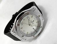 Мужские часы HUBLOT - GENEVE BIG NUMBER, цвет сталь, белый циферблат