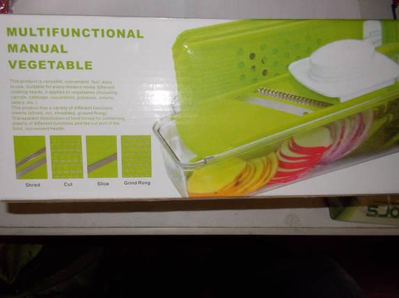 Овощерезка Multifunctsional manual vegetable, фото 2