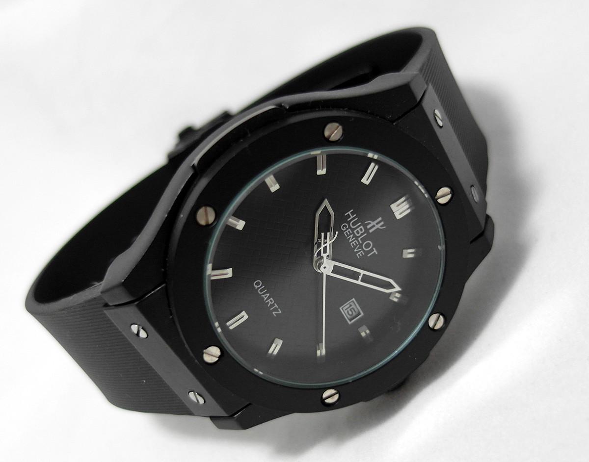 Мужские Часы HUBLOT - GENEVE Black 6483733bec4ff