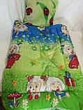 Детское одеяло и подушка силикон Божья коровка, фото 2