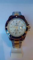 Мужские часы Rolex Submariner Date (мет/зол/бел)