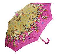 Детский зонт Zest Плюшевые зайки  со СВЕТОДИОДАМИ (механика) арт. 21551-19