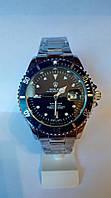 Мужские часы Rolex Submariner Date (мет/чер)