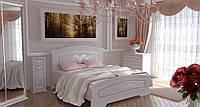 """Белая мебель для спальни """"Инесса Гранд"""""""