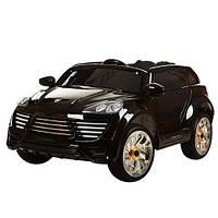 Лицензионный электромобиль Porsche Cayenne M 2735 EBLRS-2 колеса EVA+кож.сиденье***