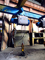Таль электрическая (тельфер) ТЭ1.400-6,3 Q - 1т., H - 6,3м.