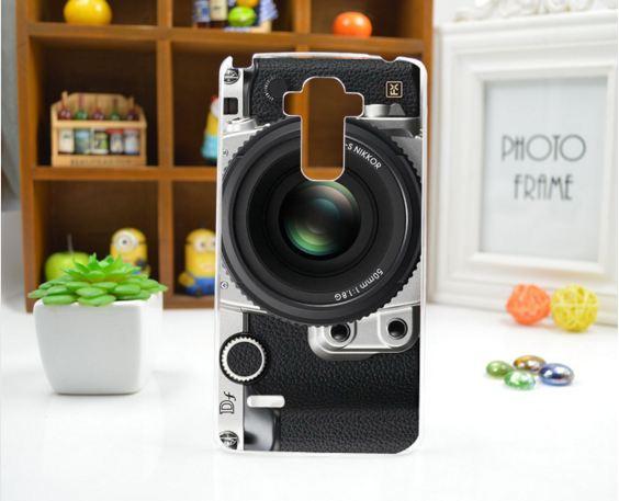 Силиконовый чехол бампер для LG G4 Stylus Ls770 H630 с рисунком Фотоаппарат