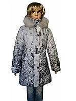 Пальто зимнее детское Маки