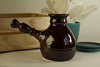 Кофейная турка глазурованная