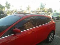 Нижняя окантовка стёкол Ford Focus 3 (HB)