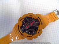 Детские часы Casio BabyG BA-111 5338 (114288) оранжевые водонепроницаемые календарь подсветка диаметр 4 см