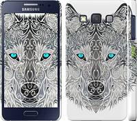 "Чехол на Samsung Galaxy A3 A300H Узорчатый волк ""3039c-72"""