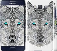 "Чехол на Samsung Galaxy A5 A500H Узорчатый волк ""3039c-73"""