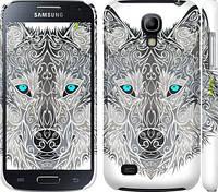 "Чехол на Samsung Galaxy S4 mini Узорчатый волк ""3039c-32"""