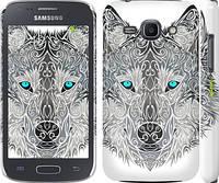"""Чехол на Samsung Galaxy Ace 3 Duos s7272 Узорчатый волк """"3039c-33"""""""