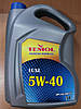 Моторное синтетическое масло TEMOL LUXE 5W-40 5л. - производства Украины