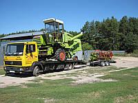 Перевозка мини-комбайнов, тракторов