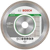 Алмазный диск Bosch Best for Ceramic Extraclean Turbo 180x25.4mm