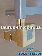 Золотой квадратный ТЭН KTX1 MS +маскировка провода +тумблер + управление - 2 режима нагрева; Мощность от 120Вт
