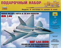 Подарочный набор сборная модель Zvezda (1:72) Российский истребитель нового поколения МиГ 1.44