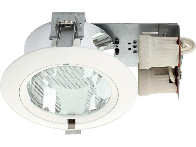 DOWNLIGHT WHITE S okrągły
