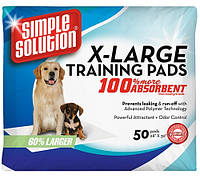 Simple Solution Training Extra Large Pads  71x76,2, 10 шт