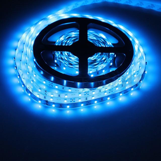 Светодиодная лента для подсветки аквариума 3528 SMD 300 шт. диодов - 5м. (без блока питания)