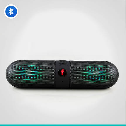 Светодиодная портативная колонка Neeka NK-BT808L Bluetooth, фото 2