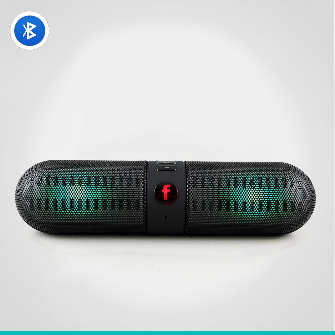 Светодиодная портативная колонка Neeka NK-BT808L Bluetooth