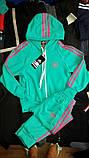 Качественный спортивный костюм для девочки, фото 2