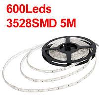 Светодиодная водостойкая лента для подсветки аквариума 3528 SMD 600 шт. диодов - 5м. (без блока питания)