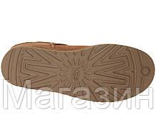Женские угги UGG Australia Classic Mini, мини угги австралия оригинал коричневые, фото 3