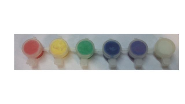 набор акриловых красок глянец