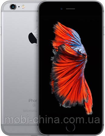 "Точная копия  iPhone 6S Plus, 5.5"", Android, Wi-Fi, 2Gb, металл, Grey, фото 2"