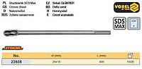 Долото канавка штроб перфоратора SDS Max Ø= 18 мм b= 25 мм l= 400 мм VOREL-23608