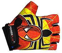 Велосипедные перчатки для детей Power Play красный