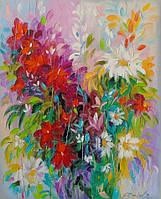 «Танец цветов» картина маслом