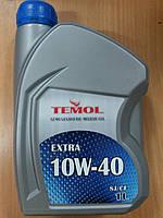 Масло моторное полусинтетическое TEMOL EXTRA 10W-40 1л. - производства Украины, фото 1